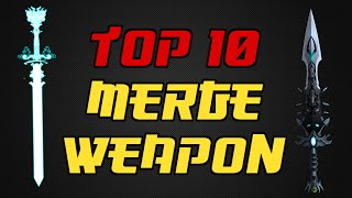 ⌠Aqw⌡ |Top 10 |【Merge Weapons】