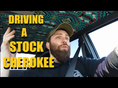 Podcast #8 - Driving a Stock Jeep Cherokee XJ