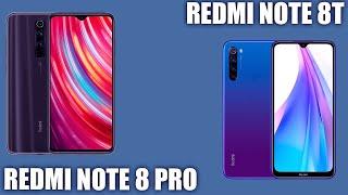 Redmi Note 8T vs Redmi Note 8 Pro. Кто из китайцев сильнее?