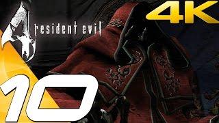 Resident Evil 4 Ultimate HD Edition - Walkthrough Part 10 - Saving Ashley & Luis Death [4K 60FPS]