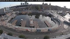 Amsterdam live stream - Stationseiland - Centraal station