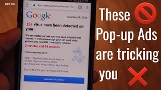 How to get rid of annoying pop up ads | These are not virus | EXPLAINED