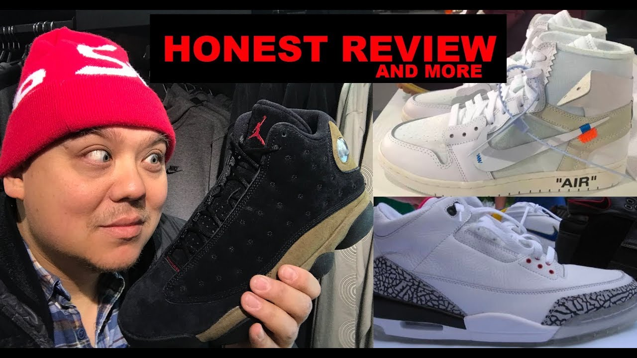dc937434061 Air Jordan 13 Olive Retro Sneaker Honest Review ,2018 White Cement  #NBAAllStar 3's & More
