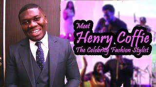 Meet Henry Coffie the Celebrity Fashion Stylist at Sonnie Badu live in Paris