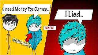 When A Gamer Get's A Fake Gamer Girlfriend | Part 1