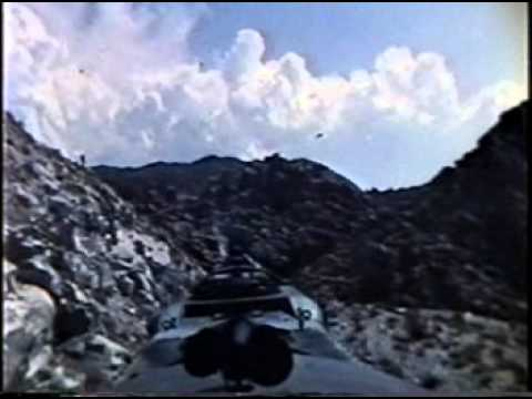 Vintage Southern Pacific Cab Ride Footage
