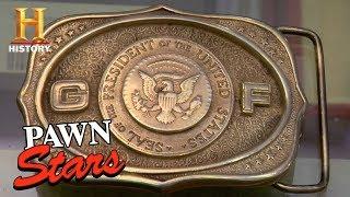 Pawn Stars: Gerald Ford Belt Buckles (Season 5) | History