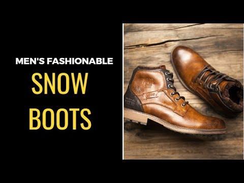 Best 10 Snow Boots For Man | Men's Fashionable Winter Boots | Best Colelction