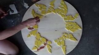 Mosaic Sun Clock