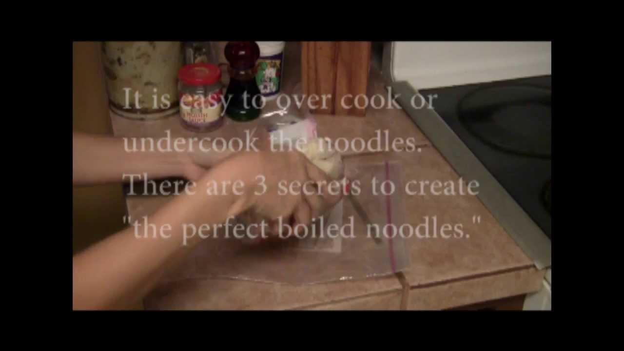 3 Secrets To Boil Rice Stick Noodles