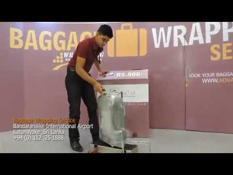 How to wrap your Baggage when you get to the Airport Departure lobby