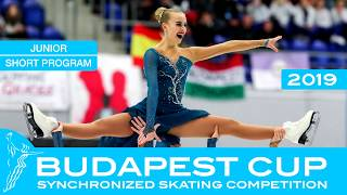 Budapest Cup 2019 - ISU Junior Short & Free programs