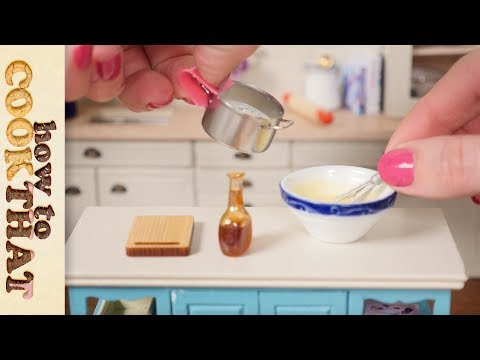 Teeny Weeny Baking (no talking extended version) How To Cook That Ann Reardon