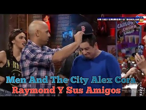 Raymond Y Sus Amigos Men And The City Alex Cora 6-nov-18
