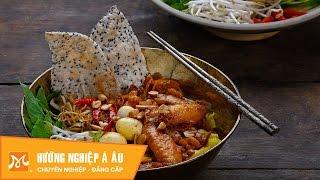 Cách nấu mì Quảng gà thơm ngon chuẩn vị  nhu the nao
