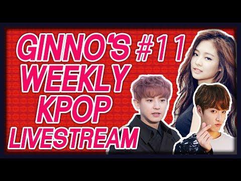 #11 Ginno's Weekly Kpop Live Stream!!!