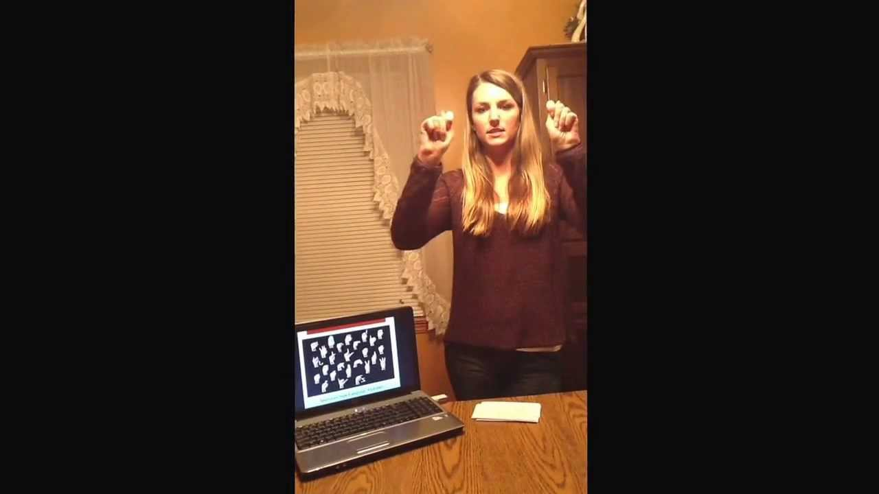 informative speech on sign language American sign language has been one of the primary means of communication for the deaf since the early  research shows that sign language hastens speech.