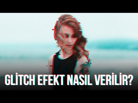 Photoshop Glitch Effect Yapma - 3D Effect | Photoshop Dersleri