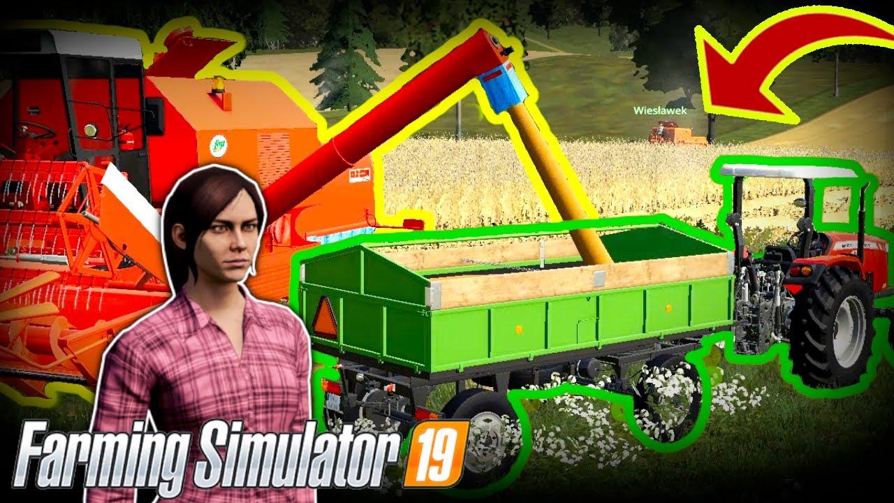 ??ŻNIWA BIZONAMI na?Lubelskiej Dolinie? |Farming Simulator 19|?
