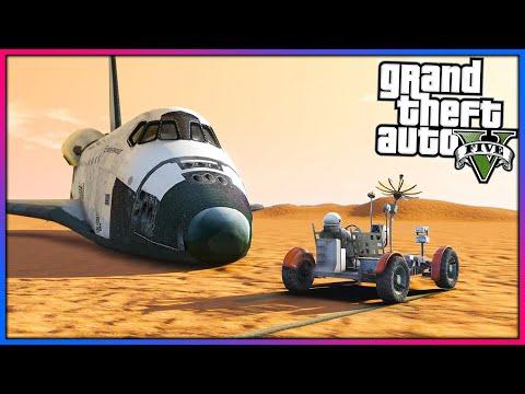 I've landed on MARS in GTA 5!! (GTA 5 Mods Gameplay)