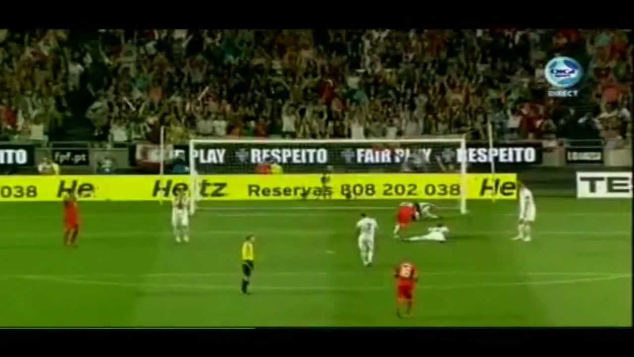 Portugal Vs Norway 1 0 Helder Postiga Goal 04 06 2011