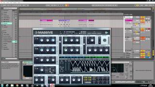 Massive Bass Tutorial.. D and B. Performer Patch.