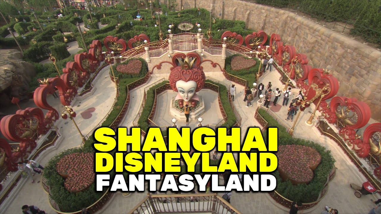 Fantasyland Overview At Shanghai Disneyland Grand Opening