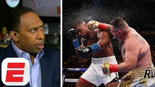 'Anthony Joshua lied to us, he wasn't ready' – Stephen A. | Get Up!