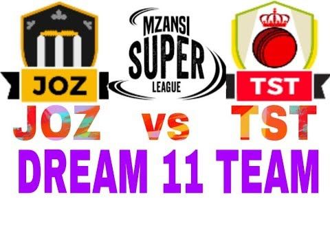 JOZ VS TST Mzansi Super League| South Africa T20 league| Dream11 Team| Playing 11| Team News
