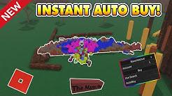 New Instant Auto Buy Script! (Op Feature!) Lumber Tycoon 2 ROBLOX