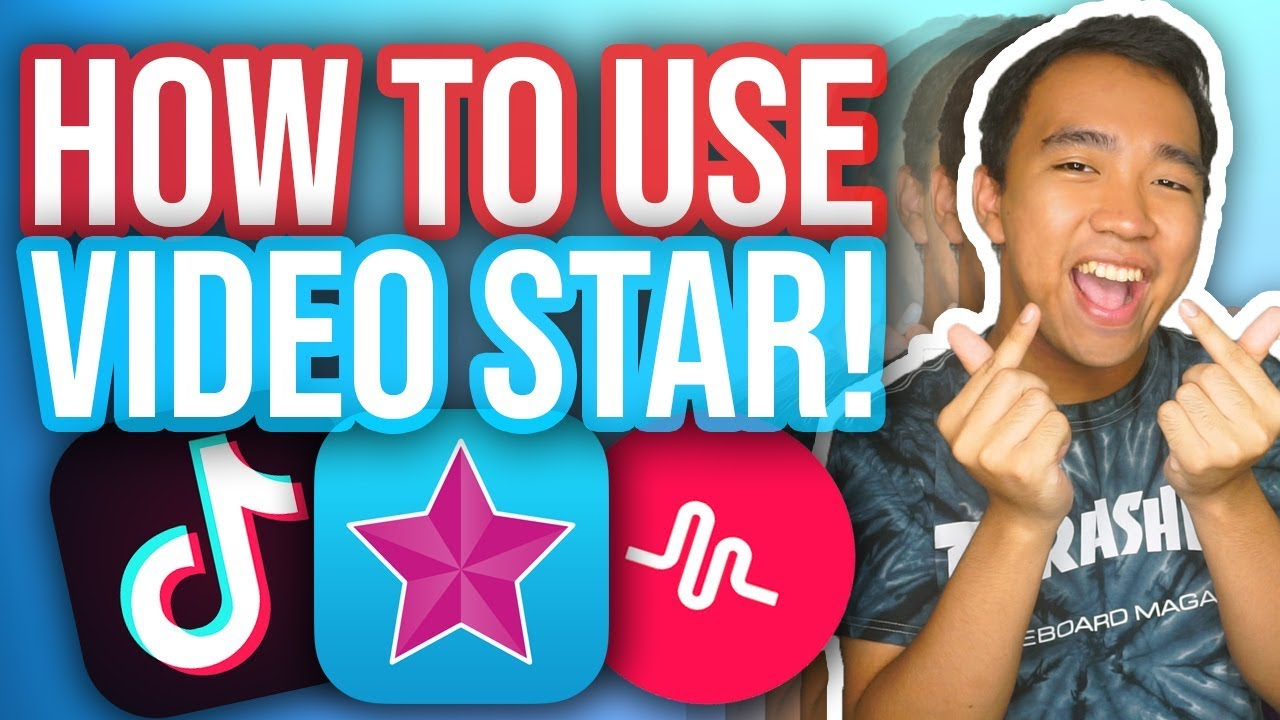 HOW TO EDIT TIK TOK VIDEOS ON VIDEO STAR! (Light Leak, Shake Effect +  MORE!) [GIVEAWAY]