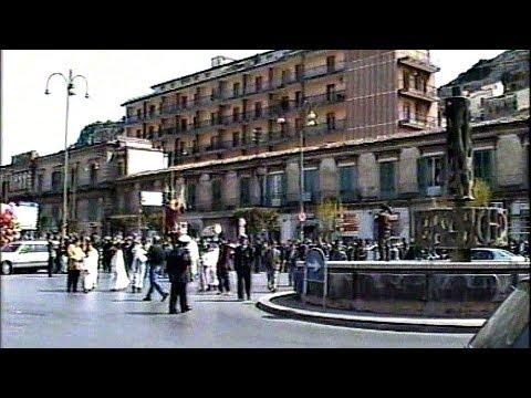 Modica 1992 - Madonna Vasa Vasa e  Fontana del Progresso