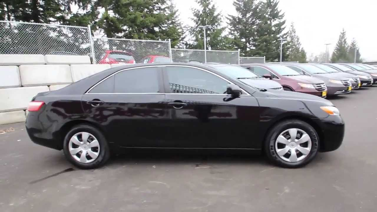 Toyota Of Burien >> 2009 Toyota Camry LE | Black | 9R132069 | Seattle | Renton - YouTube