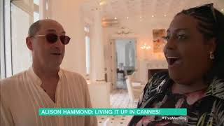 Alison Hammond at WHITE HOUSE CANNES