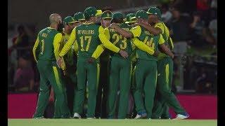 South Africa vs Bangladesh - 1st T20 Post-match