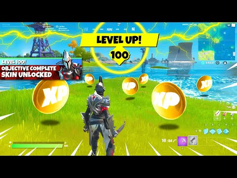How To Get LEVEL 100 In Fortnite TODAY! (FAST)