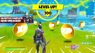 How to Get LEνEL 100 in Fortnite TODAY! (FAST)
