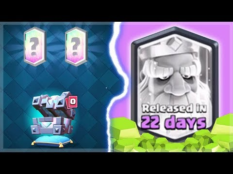 NEW LEGENDARY KING CHEST OPENING GEM SPREE | Clash Royale | PLUS New Cards and Challenges