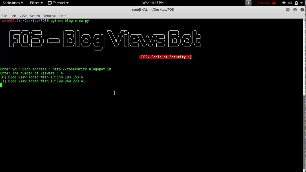 Blog view bot