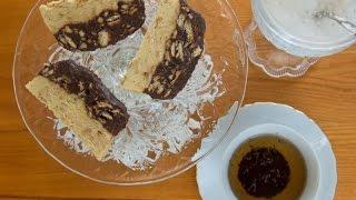 Dwukolorowy blok czekoladowy - kuchnia.cerkiew.pl