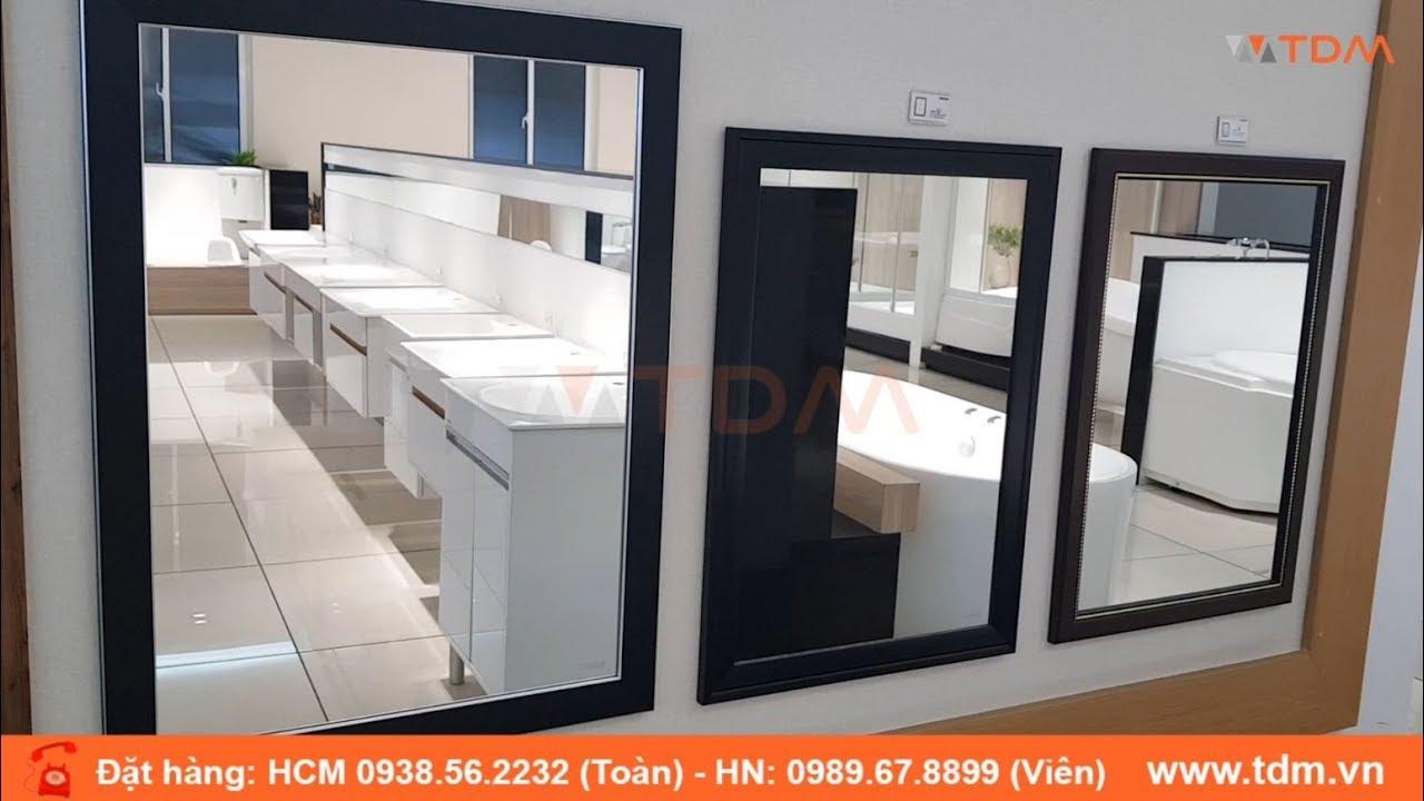 TDM.VN | Review gương phòng tắm Caesar M803 có khung kích thước 800 x 600 mm giá tốt nhất