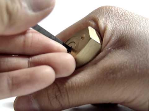 6. Bellhorn Cruciform padlock SPP