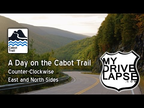A Long Drive on the Cabot Trail: East and North Sides of CBI