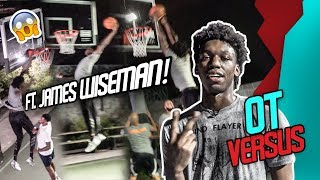Vegas Mansion PICKUP Vs The BEST PLAYER In The Country JAMES WISEMAN! Loser CHUGS PICKLE JUICE 🤮🤢