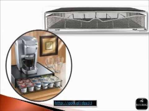 Keurig K Cup Holder - Keurig K-cup Storage Drawer Coffee Holder for 36 K-cups