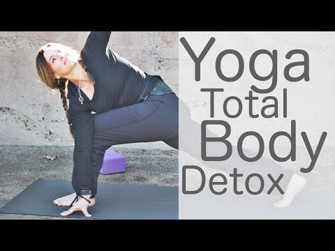 30 Minute Yoga Total Body Detox with Lesley Fightmaster