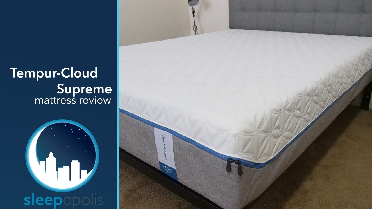 Tempurpedic Cloud Supreme Mattress Review YouTube