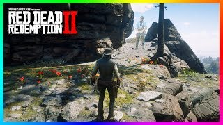 What Happens If John Marston Visits The Cliff Where Micah Killed Arthur In Red Dead Redemption 2?