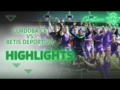 Resumen Córdoba CF 1 - 2 Betis Deportivo