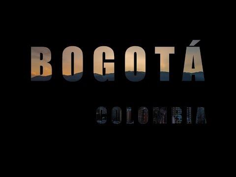 Bogotá - Colombia (Hypertimelapse) 4k